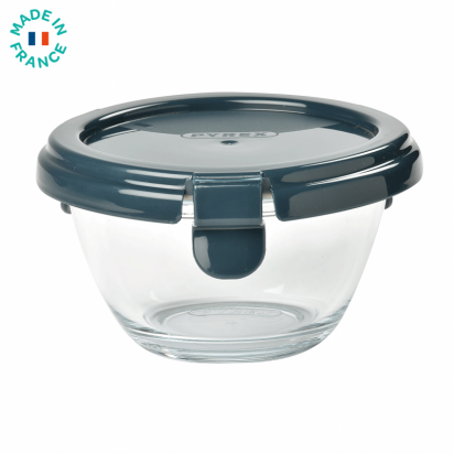 Portion Pot en verre Pyrex Dark blue Beaba