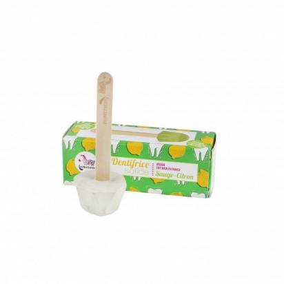 Dentifrice solide sauge/citron - Lamazuna