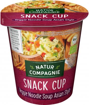 Soupe de légumes asiatique aux nouilles BIO Nature compagnie
