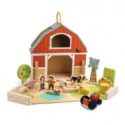 Grange en bois Tender Leaf toys