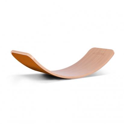 Wobbel - Planche d'équilibre en bois laqué - Feutre EKO RUST