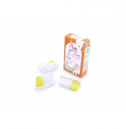 Recharge 3 têtes de brosse à dents - Souple - Lamazuna