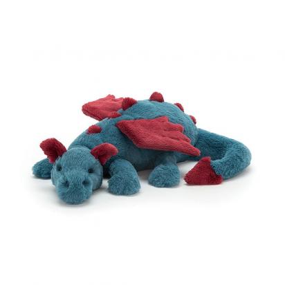 Doudou peluche Dexter Dragon 26cm Jellycat