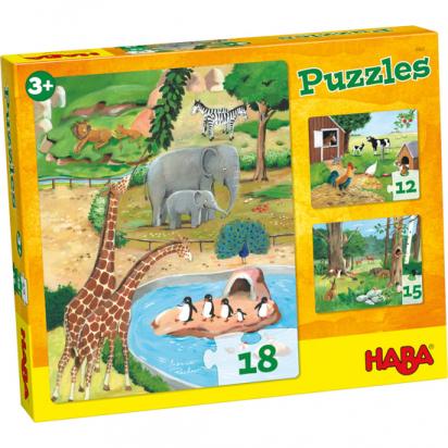 Puzzle animaux Haba