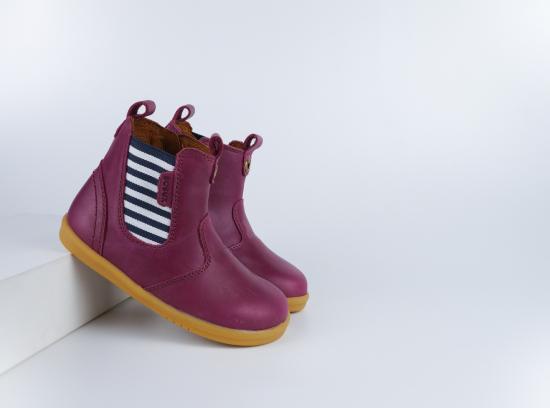 Chaussures Bobux - I-Walk - Jodphur Boysenberry Jester
