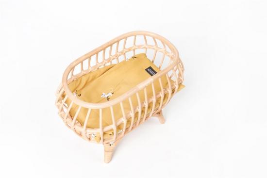 Berceau en bois pour poupée Pellianni