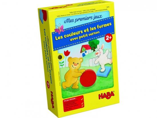 Mes premiers jeux - Les couleurs et les formes avec petit ourson - Haba