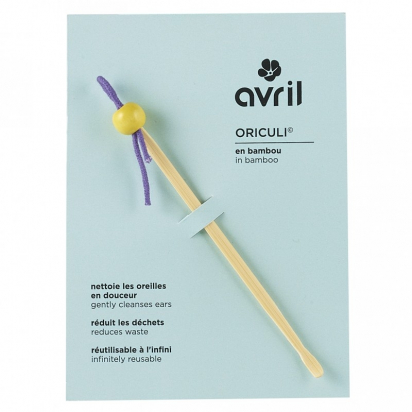 Oriculi - Cure-oreilles écologique - Avril
