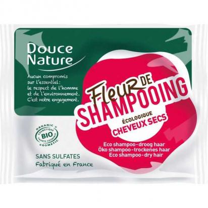 DOUCE NATURE -  Fleur de Shampooing Cheveux Secs - 85 g