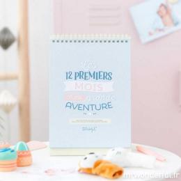 Compte-mois - 12 premiers mois d'une belle aventure FR - Mr Wonderful