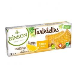 Biscuits Tartelettes citron 145g Bisson
