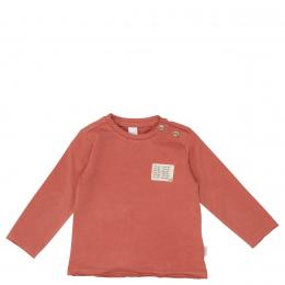 T-shirt manches longues Easy Monday brique Koeka