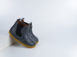 Chaussures Bobux - Step up - Jodphur Charcoal Kaa