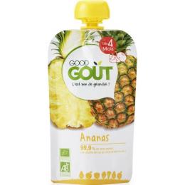 Compote BIO - Purée de fruits - Ananas - GoodGout