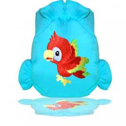 Maillot couche de bain lavable - Perroquet bleu - Eliott et Loup