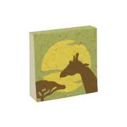 Bloc notes - Savane girafe - Poopoopaper