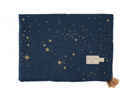 Couverture d'été Treasure - 70x100  - Gold stella/midnight blue- Nobodinoz