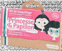 Kit 3 couleurs Princesse et papillon - Namaki