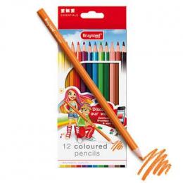 12 crayons de couleur - Bruynzeel