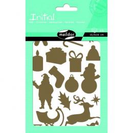 Stickers - Initial - Noël - Maildor