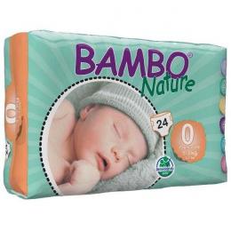 Couches jetables Bambo Nature - Newborn préma