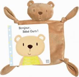 Un bisou, Bébé ours! - Avec 1 doudou - Un livre, un doudou