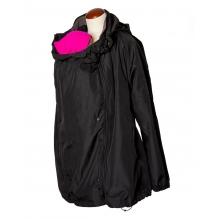 Manteau de portage / grossesse - All-Season - Black/Lava stone grey - Mamalila