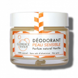 Déodorant naturel Peau sensible Vanille Clémence et Vivien