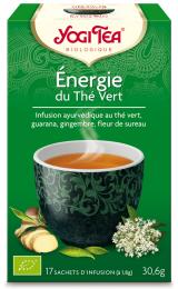 Infusion ayurvédique aux plantes Energie du thé vert Yogi Tea