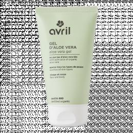 Gel d'aloe vera 150 ml Avril cosmétique