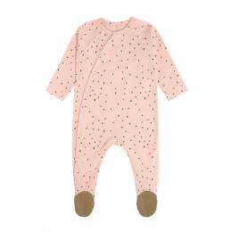Pyjama bébé GOTS - Cozy Colors, Rose Poudré Lassig