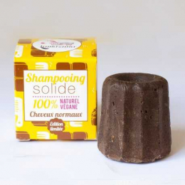 Shampooing solide au chocolat - Cheveux  normaux - Lamazuna