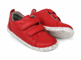 Chaussures Bobux - Step up - Grass court red