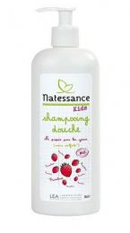 Shampooing douche KIDS Framboise Natessance