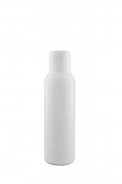 Flacon blanc opaque bouchon à clapet - 125 ml - Bioflore