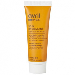 Soin hydratant visage Homme - Avril