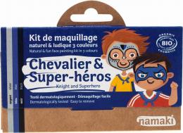 Maquillage Kit 3 couleurs Chevalier et super héros - Namaki