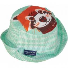Bob / Chapeau de soleil coton BIO - Panda roux - Coq en pâte