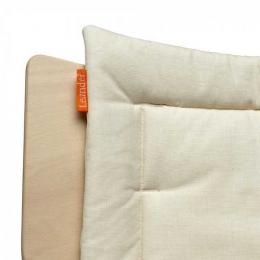 Coussin de chaise Leander Beige