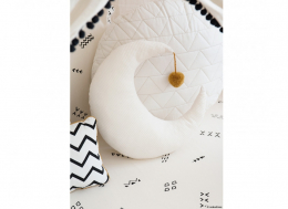 Coussin lune Pierrot - Natural - Nobodinoz