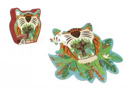 Puzzle tigre 59 pièces Scratch