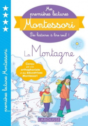 Mes premières lectures Montessori - La Montagne - Larousse