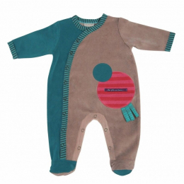 Pyjama - 3 mois - Jolis pas beaux Vert - Moulin Roty