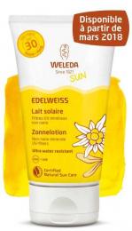 Lait solaire à l'Edelweiss - SPF30 - 150ML - Weleda