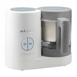 Le robot cuiseur Babycook NEO en verre et inox grey-white Beaba