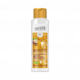 Shampooing et après-shampooing réparateur profond Lavera