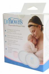 30 coussinets d'allaitement jetables - Dr Brown