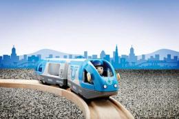 Train de voyageurs à pile - Brio