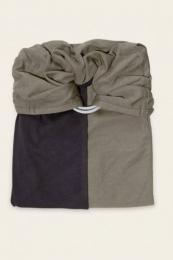 Petite écharpe sans Noeud anthracite olive Love Radius JPMBB
