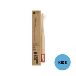 Brosse à dents en Bambou Kids - Red - Hydrophil